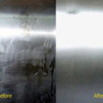 Casellas-Refinishing-automotive-refinishing-before-after-elevator-stainless-steel